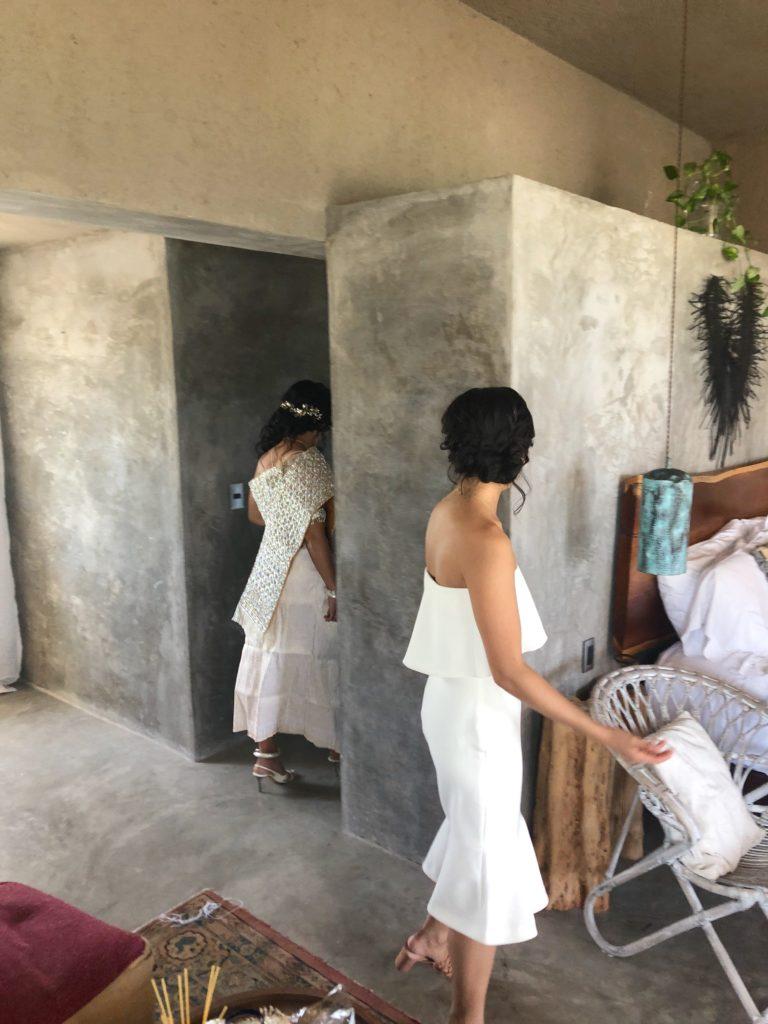 tulum wedding at nomade - cambodian ceremony