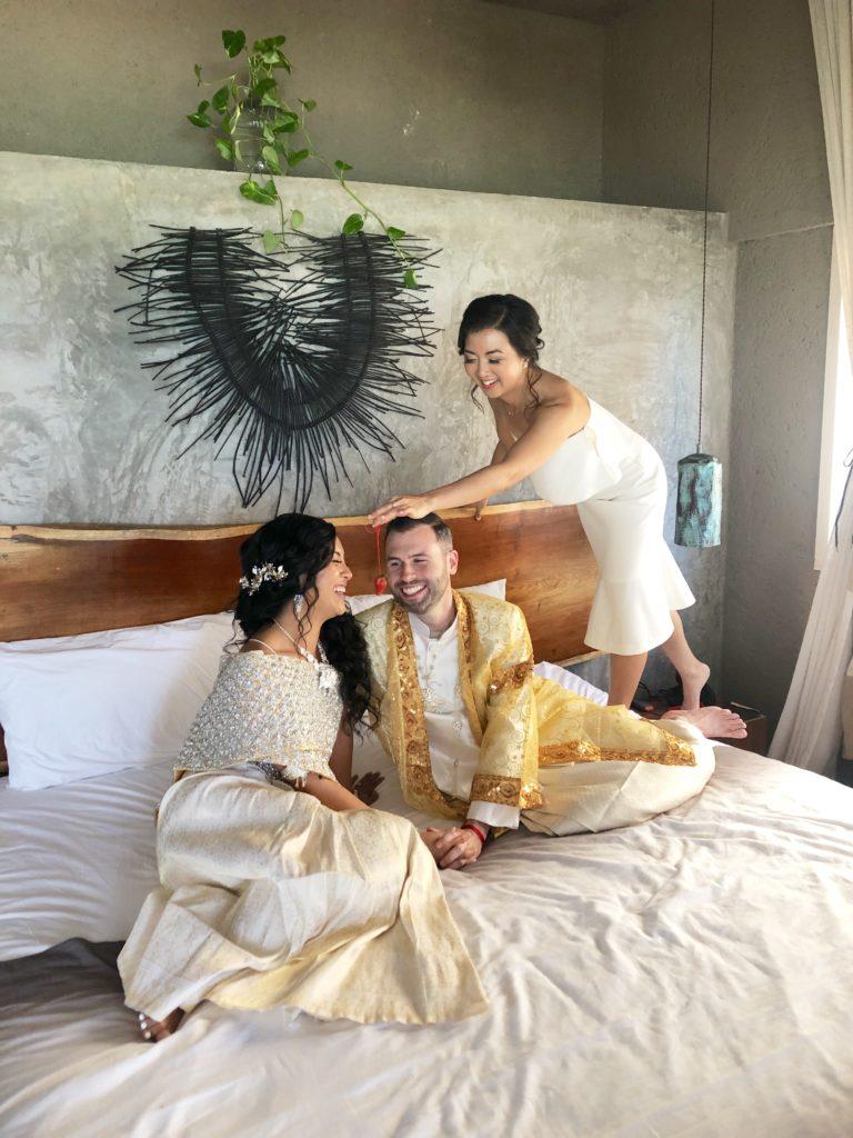 tulum wedding at nomade - cambodian wedding