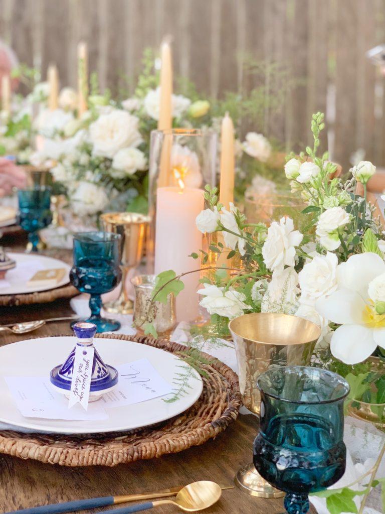 tulum wedding tablescape - diana romo