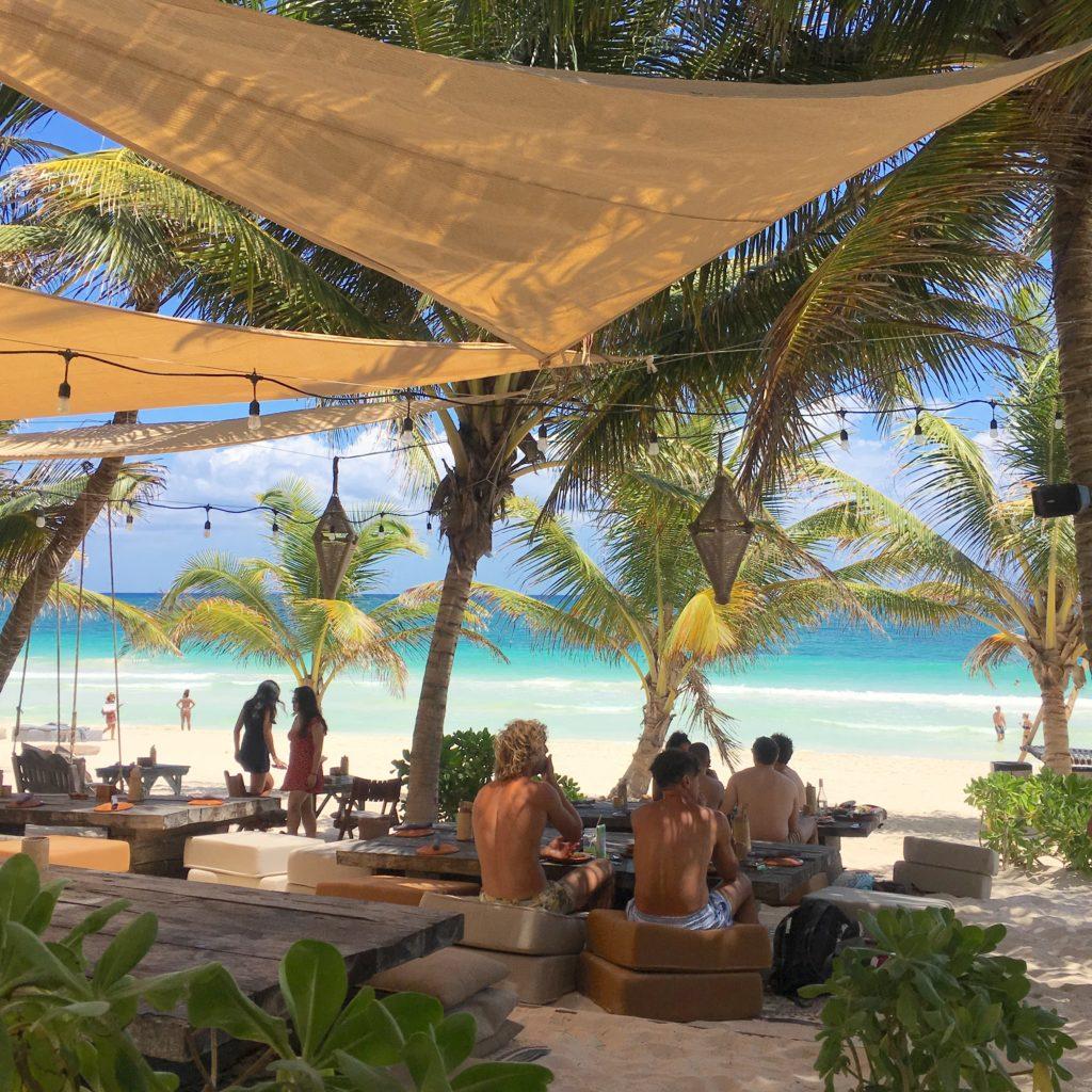 La Popular Tulum, Nomade's beach front restaurant