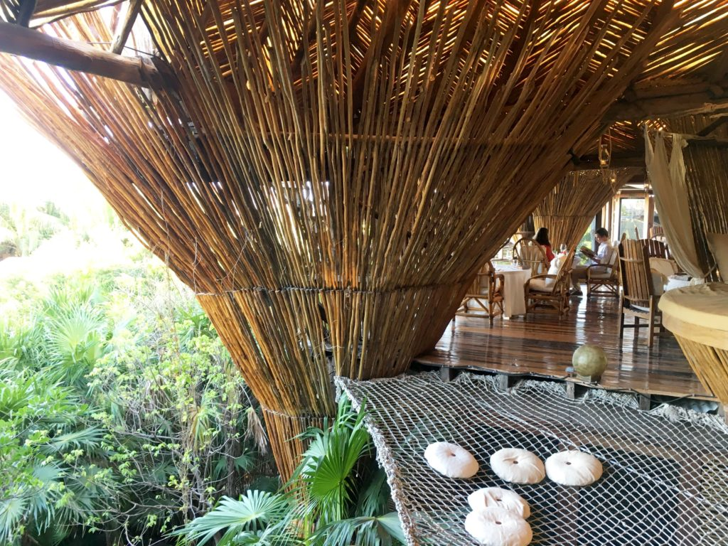 Kin Toh treehouse restaurant in Tulum