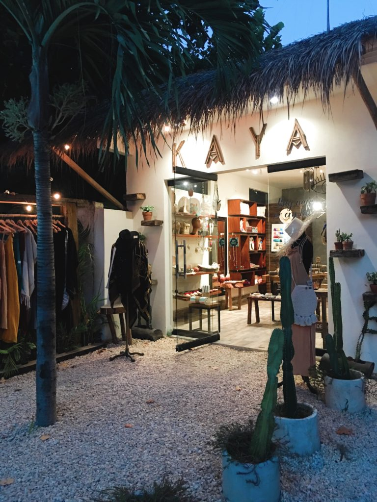 Kaya, a Tulum Mexico boutique
