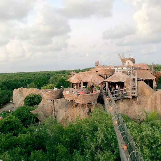 25 Instagram-Worthy Things To Do In Tulum: A Travel Guide - #1Kin Toh Tulum, a restaurant built above the jungle