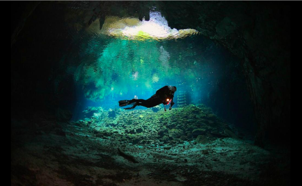 Gran Cenote in Tulum, diving in Gran Cenote